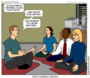 geek yoga